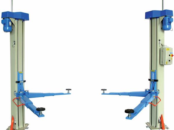 Omcn 199 gamma ponte 2 colonne senza basamento 3 5 tonn for Ponte a colonna usato