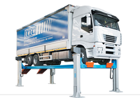 Ponti sollevatoria 4 colonne per automezzi pesanti OMCN
